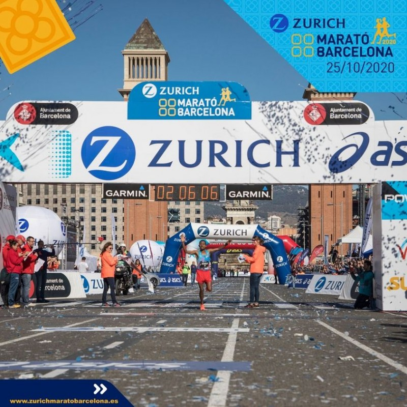 <span style='color:#780948'>ARCHIVED</span> - 2020 Barcelona Marathon to go ahead in virtual format and free of charge due to Covid