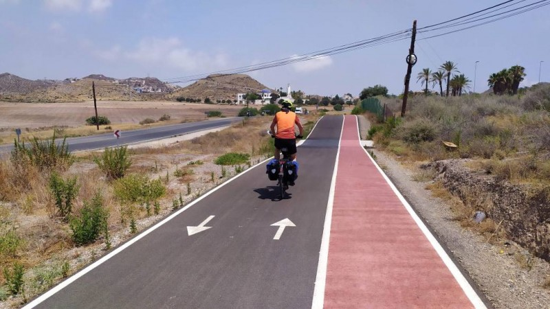 <span style='color:#780948'>ARCHIVED</span> - Work begins on the final stretch of the Águilas-Calabardina cycle and pedestrian lane