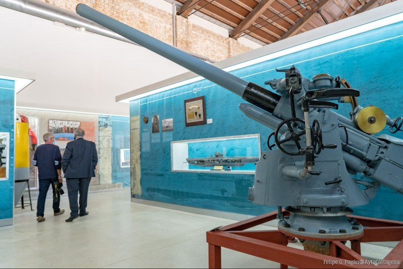 <span style='color:#780948'>ARCHIVED</span> - New naval submarine history display opens at the Museo Naval in Cartagena