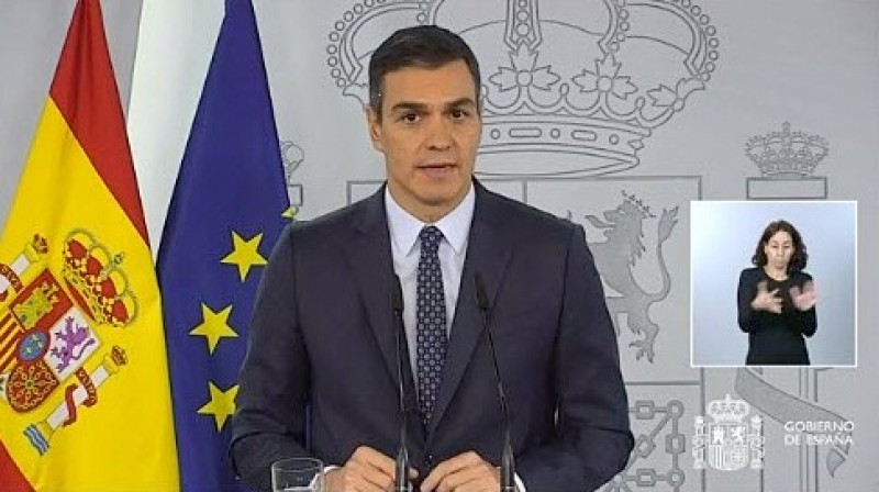 <span style='color:#780948'>ARCHIVED</span> - Spanish Government approves new state of emergency and curfew