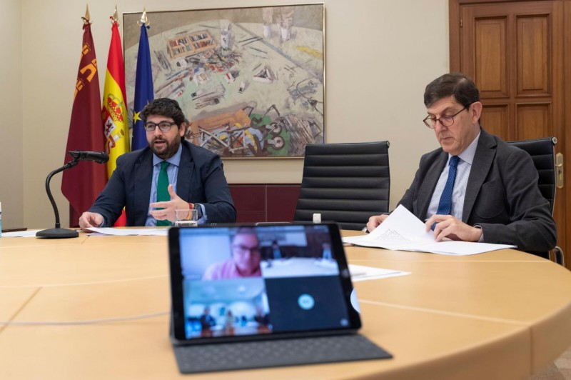 <span style='color:#780948'>ARCHIVED</span> - Decision this evening about perimeter confinement of Murcia Region