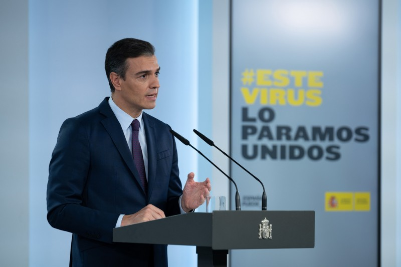 <span style='color:#780948'>ARCHIVED</span> - State of emergency until May officially confirmed in Spain