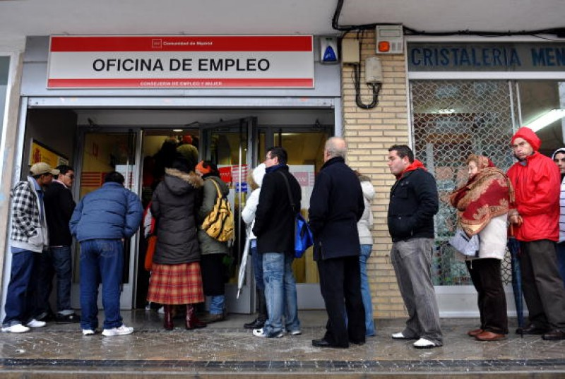<span style='color:#780948'>ARCHIVED</span> - Unemployment in Spain up by 20 per cent over the last year