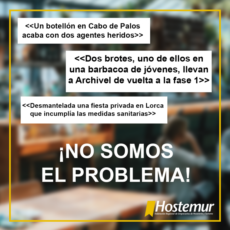 <span style='color:#780948'>ARCHIVED</span> - Murcia region preparing aid for hostelry businesses forced to close from this weekend