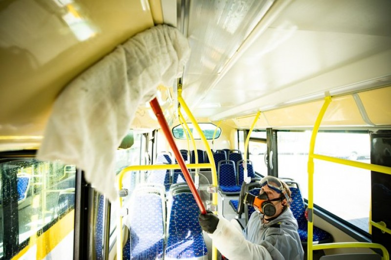 <span style='color:#780948'>ARCHIVED</span> -  Silent travel recommended on public transport to reduce the risk of contagion from Covid-19