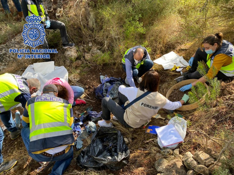 <span style='color:#780948'>ARCHIVED</span> - Drugs at the heart of Moratalla murder; Three arrested as body is found buried in Yecla