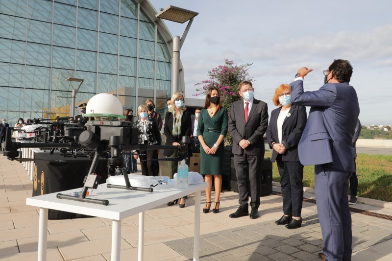 Valencia region develops Coronavirus drone scheme for rapid transport of medical material