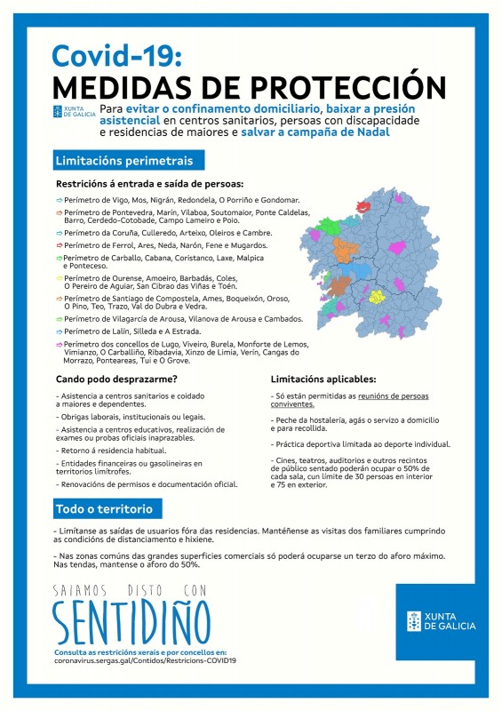 <span style='color:#780948'>ARCHIVED</span> - In spite of improving situation Galicia imposes further internal border confinements