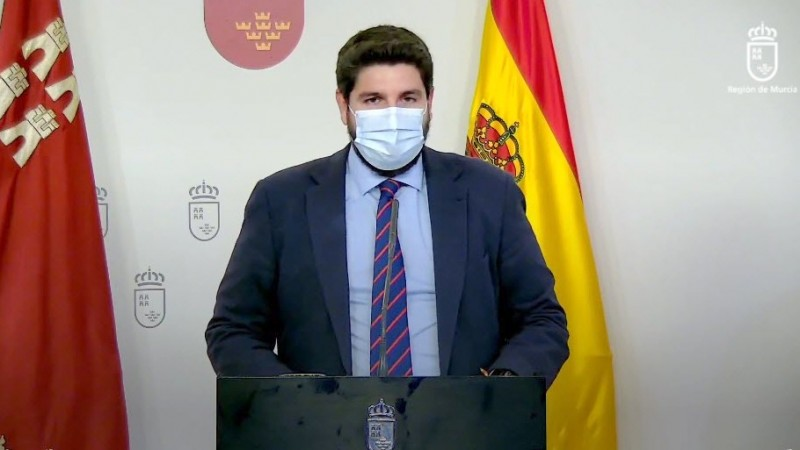 <span style='color:#780948'>ARCHIVED</span> - Murcia Region extends closure of borders until December 9th