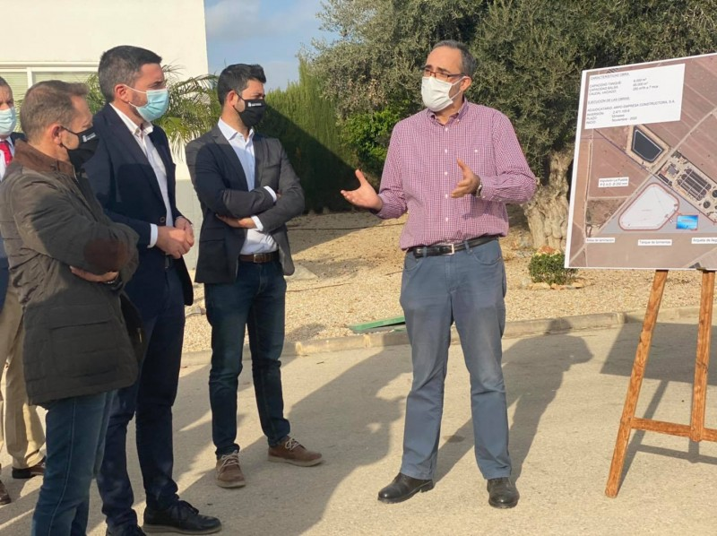Work begins on new stormwater tank in Torre Pacheco