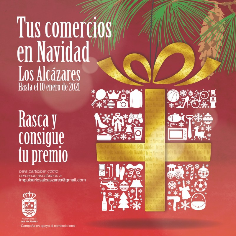 <span style='color:#780948'>ARCHIVED</span> - Los Alcázares Christmas shopping campaign supports local traders