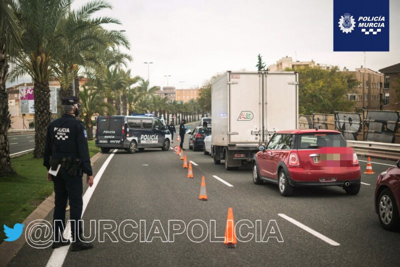 <span style='color:#780948'>ARCHIVED</span> -  Murcia police issued 577 fines this weekend; fears of third wave as covid complacency sets in