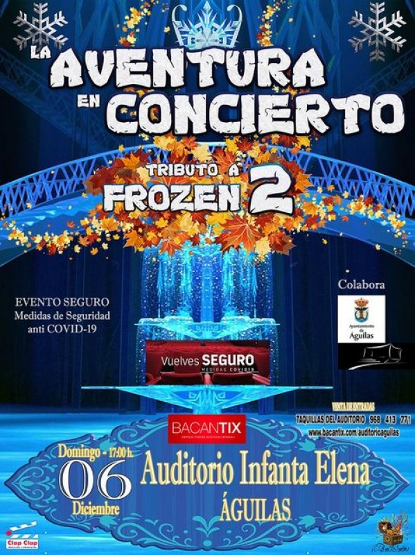 6th December Aguilas Tribute to Frozen 2