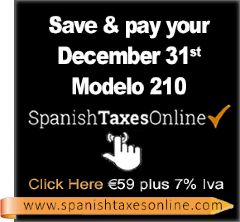 December 31st Tax Deadline For Second Home Owners In Spain