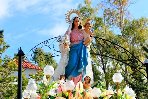 <span style='color:#780948'>ARCHIVED</span> - 2nd February, Romeria of the Candelaria, Alhama de Murcia