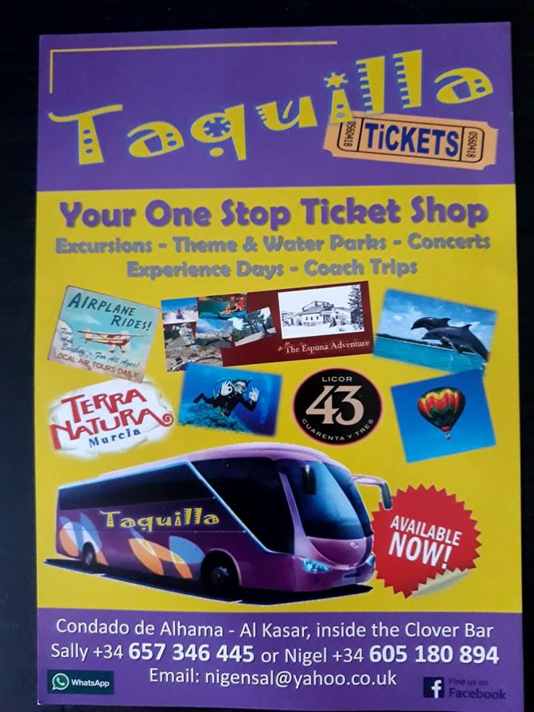 Taquilla Tickets