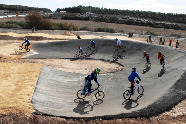 <span style='color:#780948'>ARCHIVED</span> - Mazarron inaugurates new BMX cycling circuit
