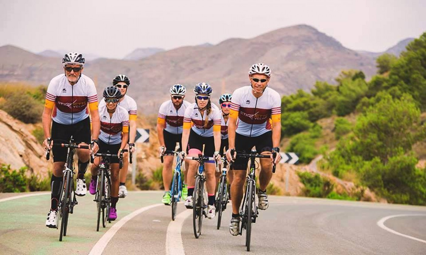 Etiquette Cycling bike hire and guided cycle tours Mar Menor and Murcia