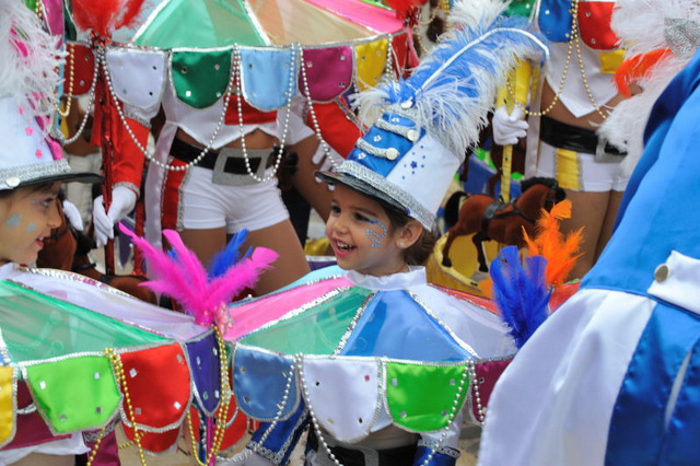 Attention to detail and creativity the Kings of Cartagena Carnival