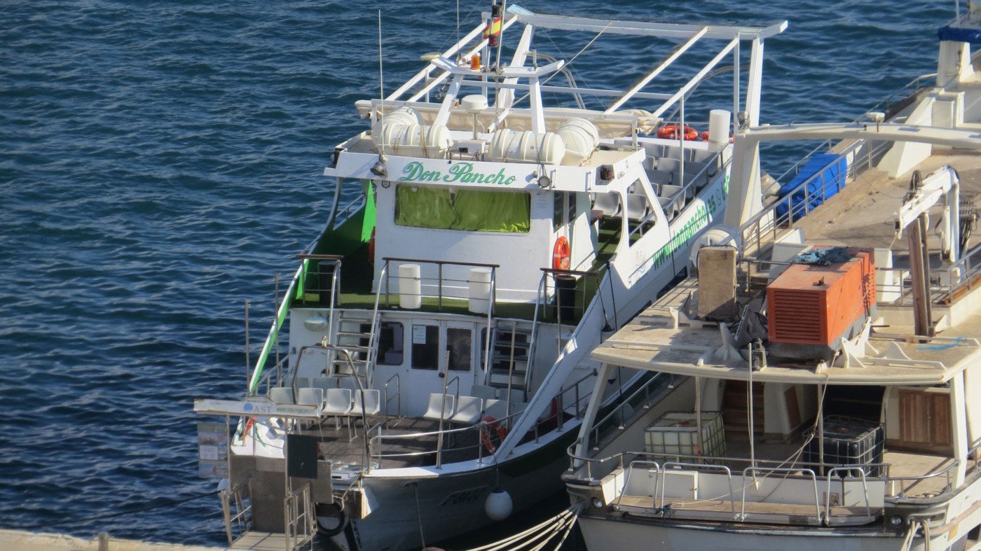Don Pancho tourist boat in Águilas