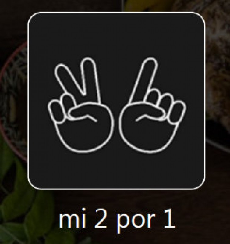 Mi 2 por 1 App giving you access to hundreds of 2 for 1 offers throughout Murcia and Alicante region