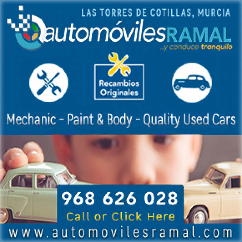 Automóviles Ramal for car sales and mechanic in Murcia
