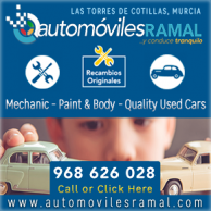 Automoviles Ramal for car sales and mechanic in Murcia