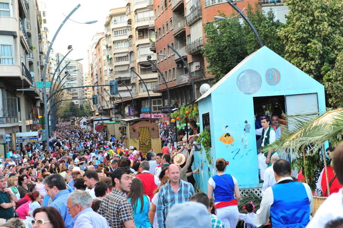 Thousands pack Murcia for the Bando de la Huerta