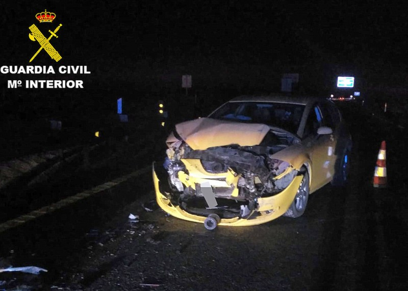 Driver travelled 13 kilometres against the traffic on RM-3 before collision in Mazarrón