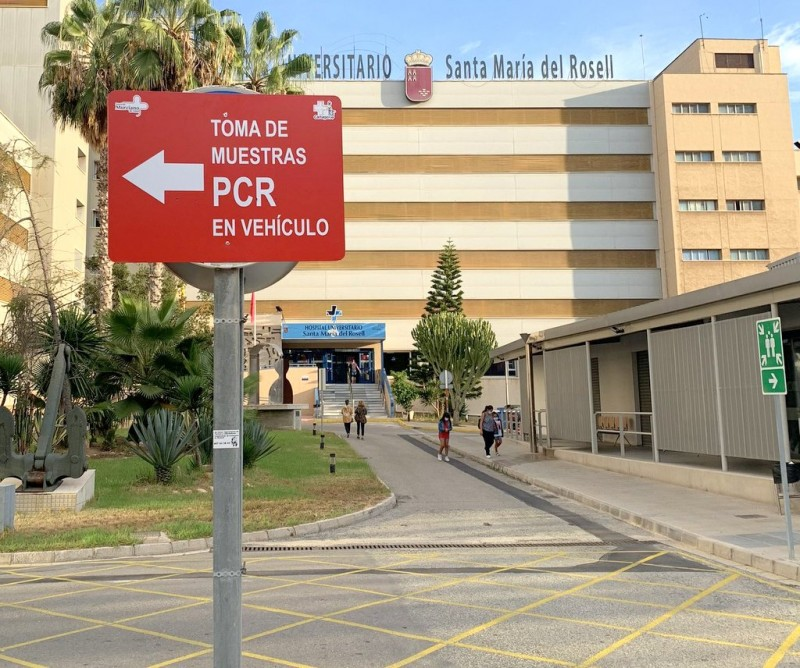 Man found dead in Cartagena hospital car park had contracted Covid