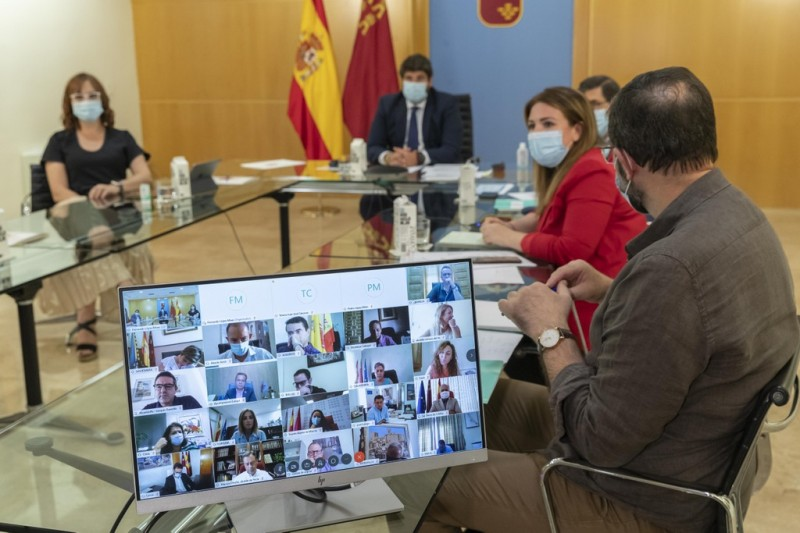 Murcian Government requests that curfew time be brought forward