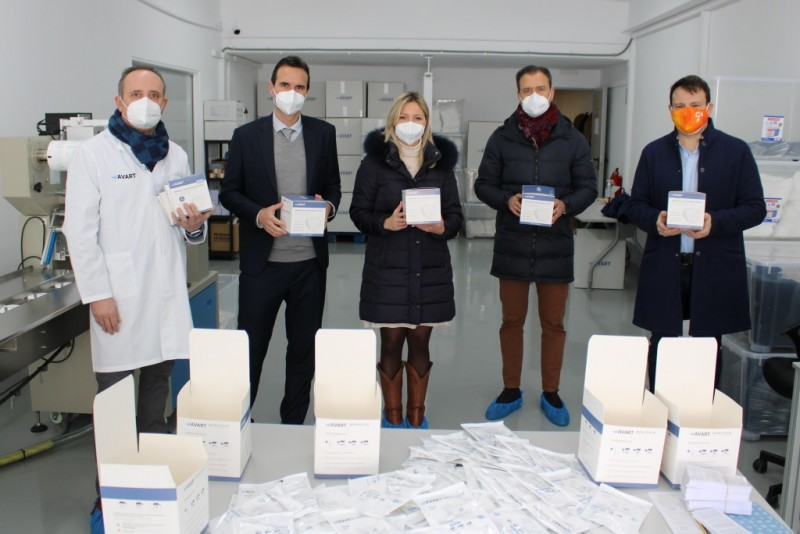 Murcia businesses producing 345,000 facemasks and PPE items every week