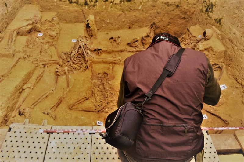 Two rusty rings in Andalusian mass grave identify Cartagena victim of Spanish Civil War reprisal execution