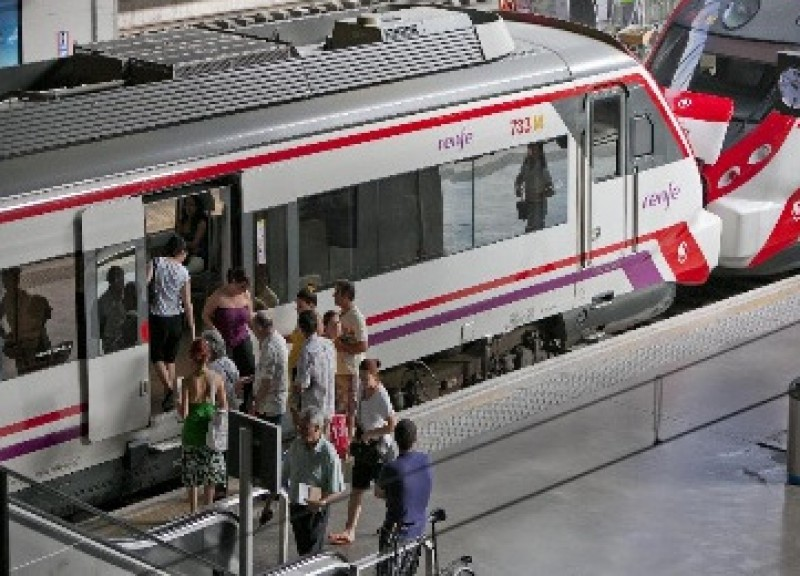 Prolonged rail travel disruption begins in the Region of Murcia for maintenance works