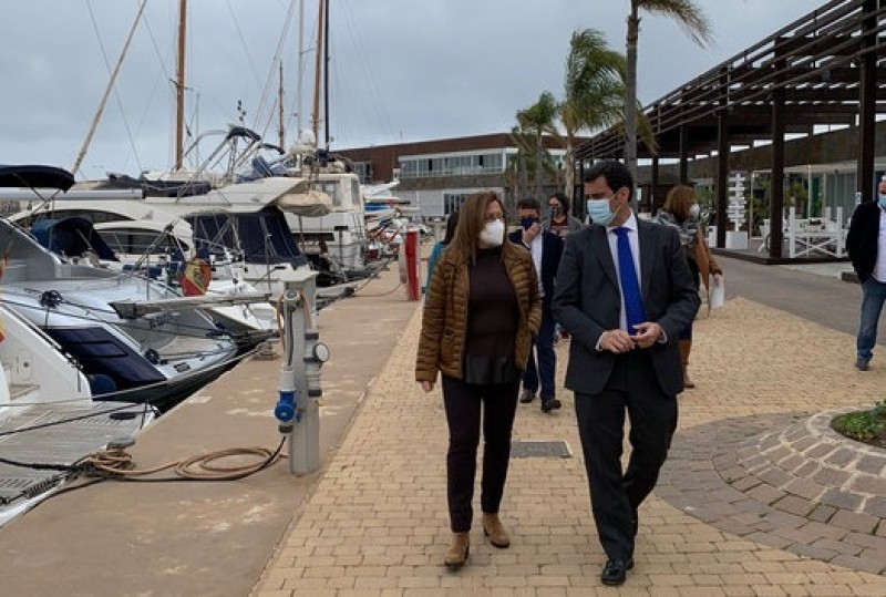 40 per cent reduction in rental costs for 144 businesses in the marinas of the Costa Calida