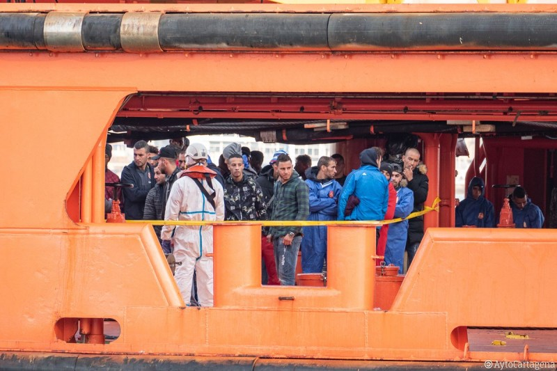 <span style='color:#780948'>ARCHIVED</span> - Four-year prison sentence for captain of boat transporting illegal immigrants to Almeria