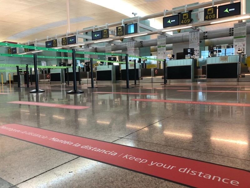 <span style='color:#780948'>ARCHIVED</span> - Granada-Jaen airport amongst six best in Spain in Covid hygiene awards