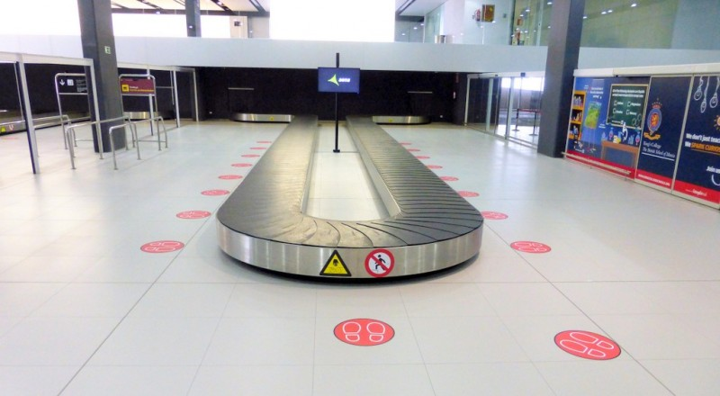 Corvera airport judged to have been amongst the best in the world for its Covid hygiene precautions