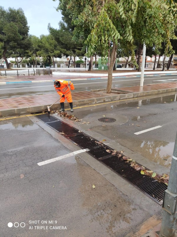 <span style='color:#780948'>ARCHIVED</span> - No major problems around the Mar Menor due to rain on Sunday
