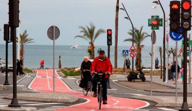 <span style='color:#780948'>ARCHIVED</span> - Benidorm aims to offer 134 km of cycling lanes by the end of 2021