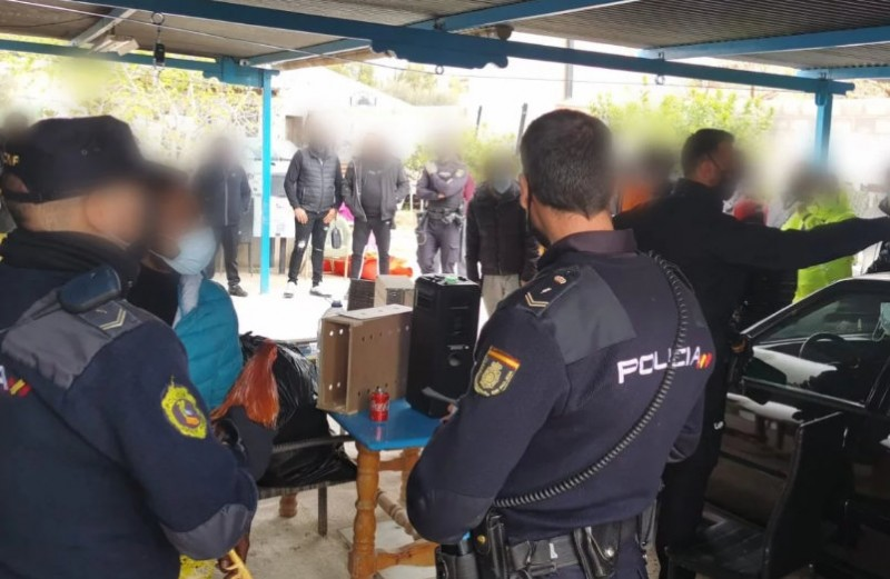 <span style='color:#780948'>ARCHIVED</span> - Cockfighting ring busted by police in Alicante