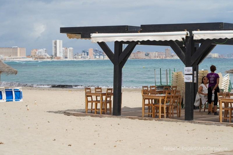<span style='color:#780948'>ARCHIVED</span> -   Cartagena begins process to license 61 chiringuitos beach bars this summer
