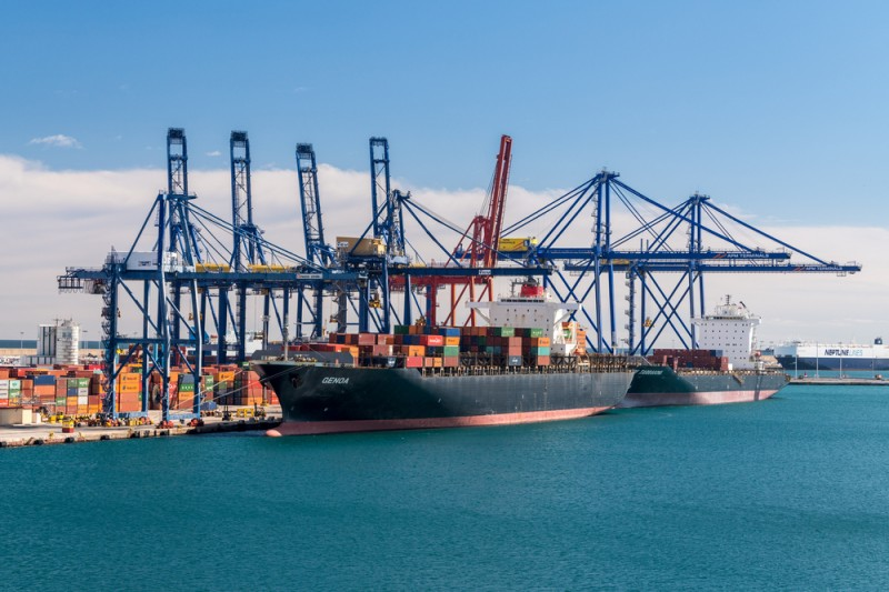 First container ship after Suez Canal incident reaches Valencia port