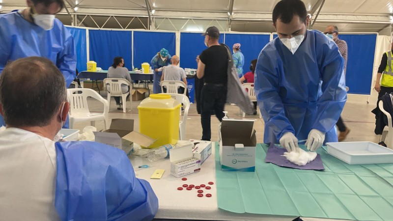 <span style='color:#780948'>ARCHIVED</span> - Slow rise in Spanish infection rate continues as Covid claims 126 more lives: Covid update April 15