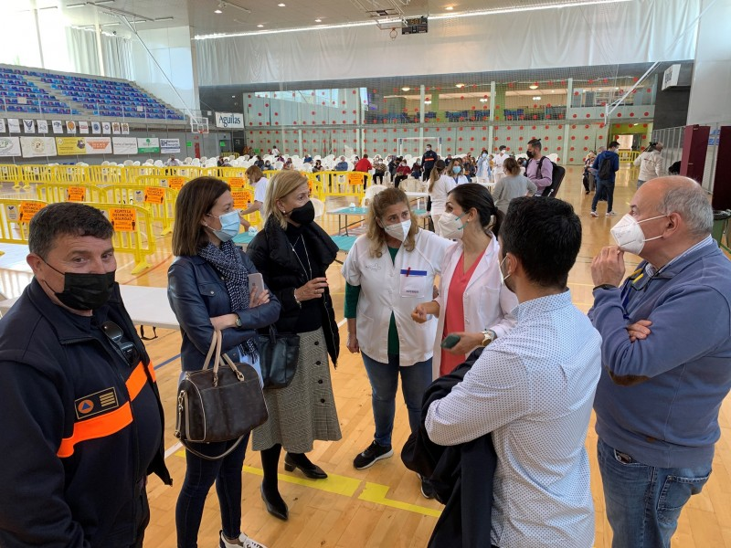 <span style='color:#780948'>ARCHIVED</span> - Covid vaccination in Murcia gathers momentum but is still progressing more slowly than elsewhere in Spain