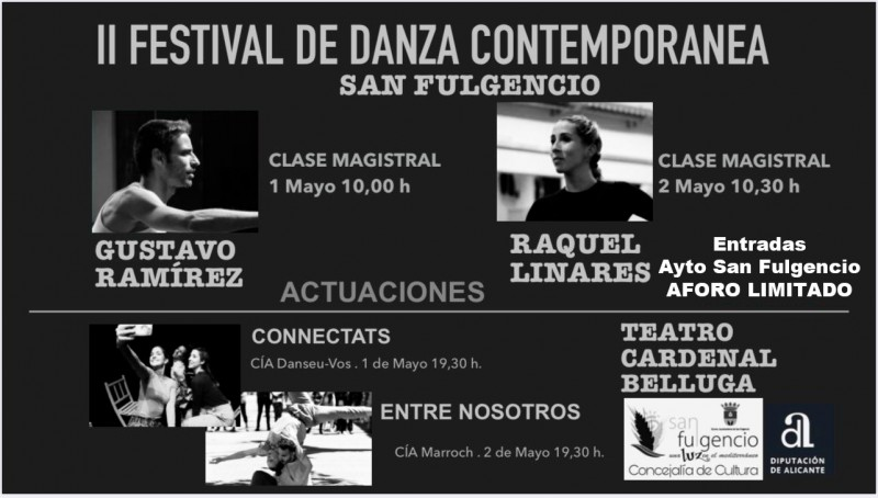 <span style='color:#780948'>ARCHIVED</span> - 1st and 2nd May free entry contemporary dance in San Fulgencio