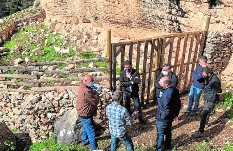 14,000-euro restoration of traditional sheepfold completed in Sierra Espuña