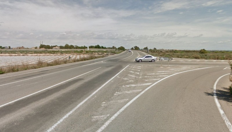 New roundabout to improve safety on the RM-54 north of Los Urrutias and El Carmolí
