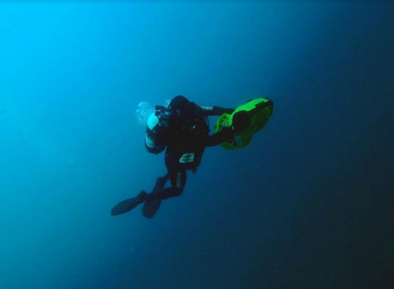 Navy divers help to protect the underwater archaeological heritage of Águilas