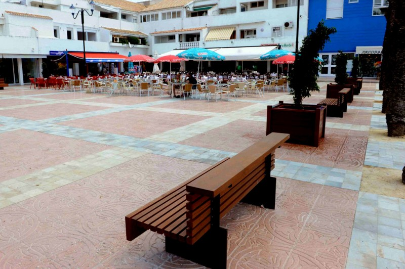 Plaza Bohemia in La Manga del Mar Menor  to be extended with a new boulevard